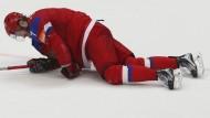 Auf dem Boden der kalten Tatsachen: Ivan Telegin und Russland verlieren das Halbfinale.