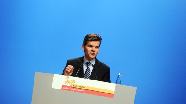 Bundeskanzlerin Merkel beim OB Wahlkampf in Karlsruhe