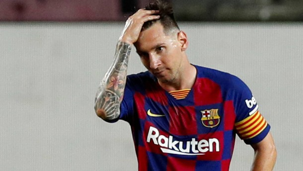 Schwerer Rückschlag für Lionel Messi
