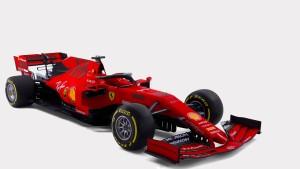Mit diesem Ferrari jagt Vettel den WM-Titel