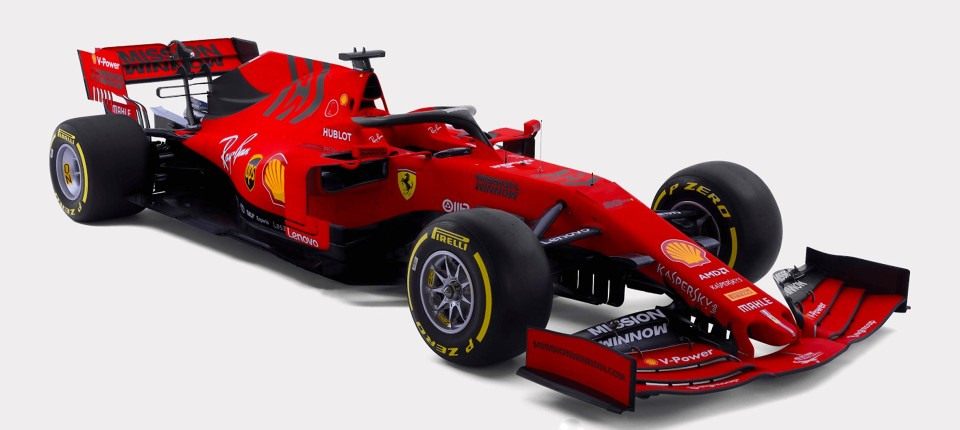 formel 1 ferrari pr sentiert sebastian vettels neuen ferrari. Black Bedroom Furniture Sets. Home Design Ideas