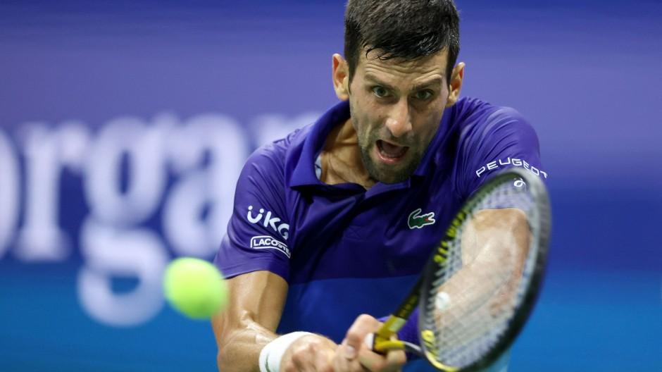 """""""ABER – es ist Best of Five. Es ist Grand-Slam-Tennis"""": Novak Djokovic ist heiß auf den Sieg über Zverev."""