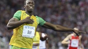 Usain Bolt, die Zweite