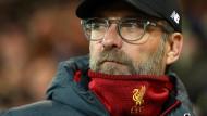 Jürgen Klopp und dem FC Liverpool kommen die Gegner abhanden.