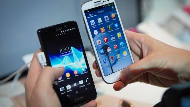 In Deutschland läuft jetzt auch schon jedes zweite genutzte Smartphone mit Android