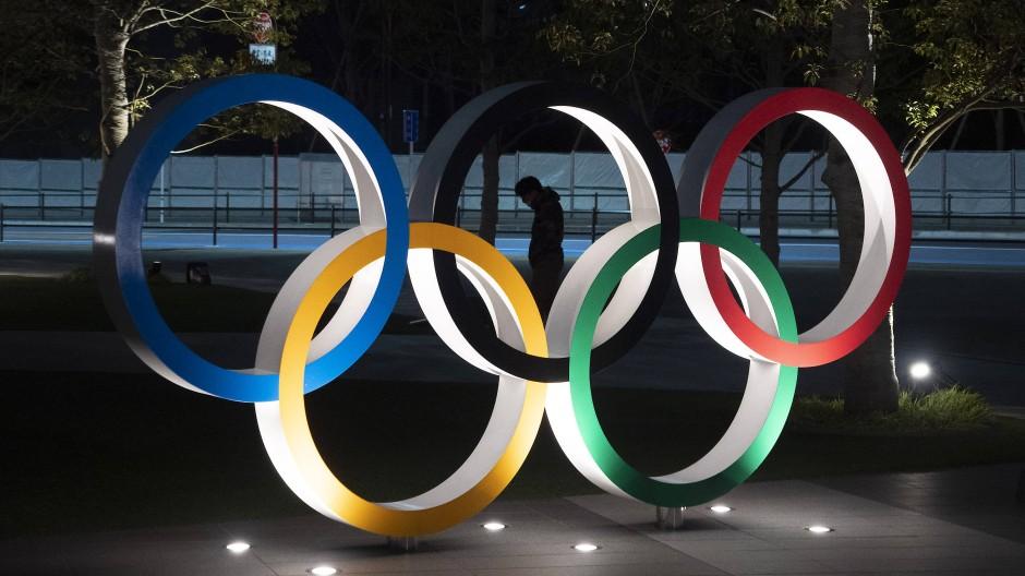 Erst im Sommer 2021: Die Olympischen Spiele in Tokio wurden wegen des Coronavirus verschoben.