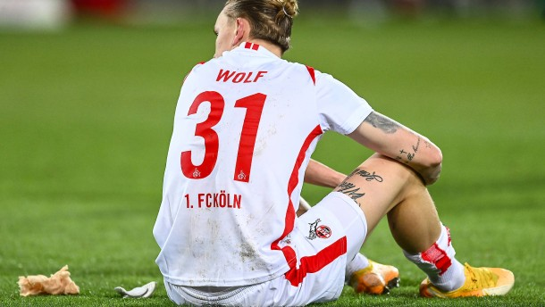 Frust und Ärger beim 1. FC Köln nach dem Debakel