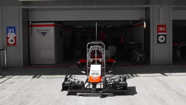 Marussia verzichtet auf Bianchi-Ersatz