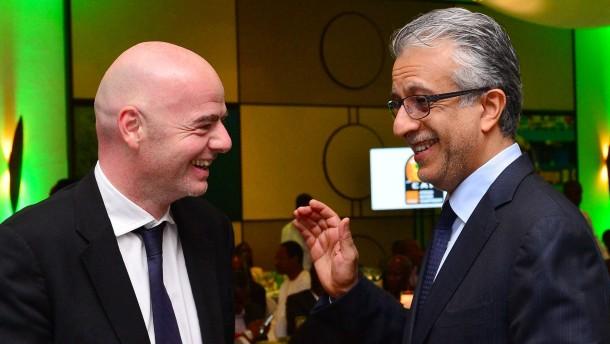 Afrikanische Abtrünnige bei Fifa-Wahl