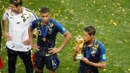 Erfolg mit Demut: Die Franzosen waren opferbereit genug für den Titel