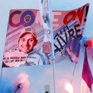 Rot-weiß-blaue Luft: Mathieu Faivre gewinnt den Heim-Riesenslalom in Val d'Isere