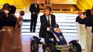 Auf großer Fahrt: Sebastian Vettel in Baden-Baden