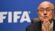 Europapolitikerin attackiert Präsident Blatter