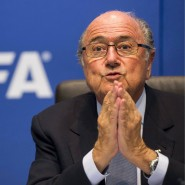 Es wird einsam: Fifa-Präsident Blatter