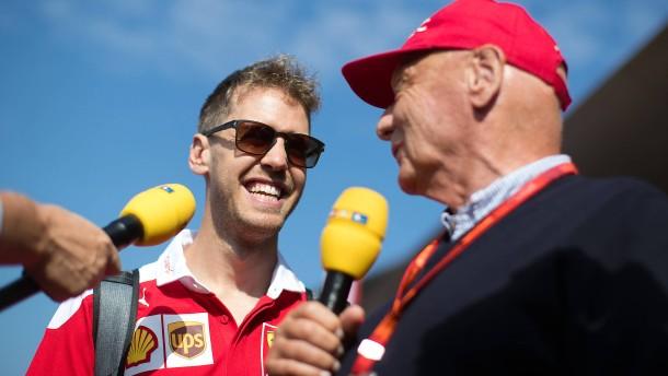 Brief von Vettel rührt kranken Lauda ganz besonders