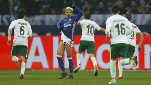 Slapstick auf Schalke