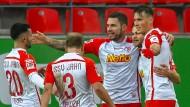 Sieger des Samstags: Nur Jahn Regensburg gewinnt in der zweiten Bundesliga