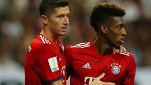 Die Bayern der Zukunft proben den Ernstfall