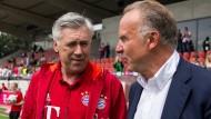 Sorge um Robben trübt Ancelotti-Debüt
