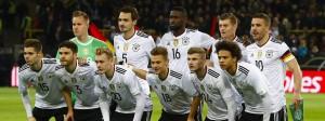 Mit diesen elf Spielern startete das DFB-Team gegen England.