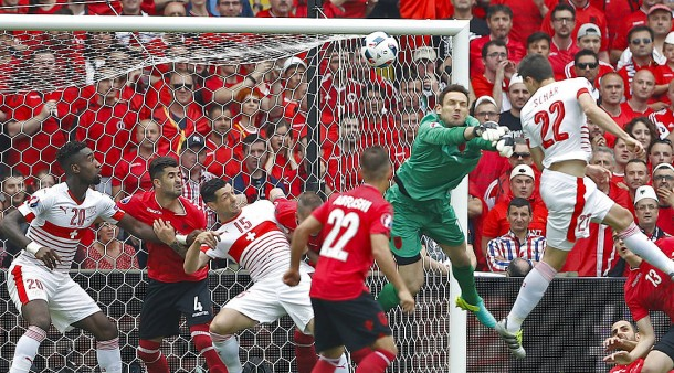 Fussball Schweiz Albanien