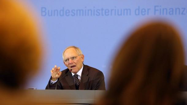 Mit seinen Pirouetten erreicht Wolfgang Schäuble keine nachhaltige Lösung
