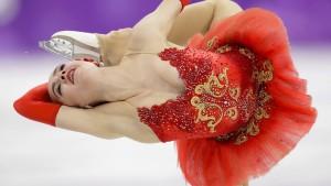 Mit 15 auf den Eiskunstlauf-Thron