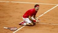 Federer vollendet sein Tennis-Lebenswerk