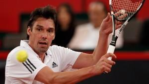 Einsamer Kämpfer gegen die Tennis-Tristesse