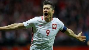 Lewandowski schießt Polen nach Russland