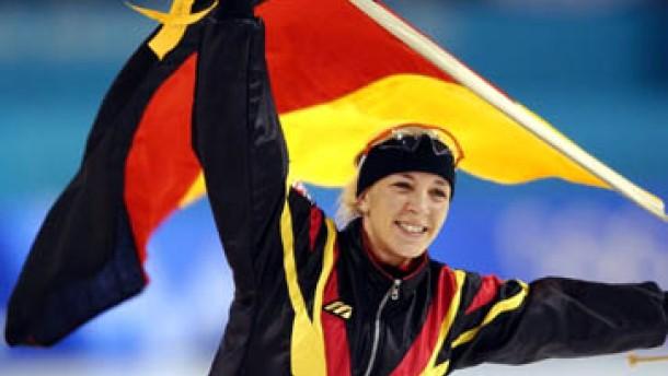Der zwölfte Tag: Friesinger gewinnt Gold - Eishockey-Team ausgeschieden