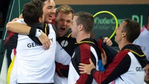 Struff führt Deutschland in die Endrunde
