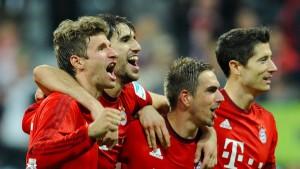 Deutscher Meister wird nur der FC Bayern