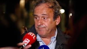 Jetzt sitzt Platini in der Falle