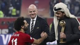 Fifa und Qatar präsentieren Nachhaltigkeitsstrategie