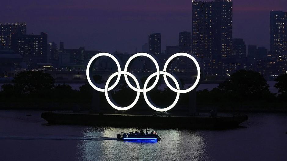 Die Olmypischen Ringe sollen 2021 in Tokio leuchten.