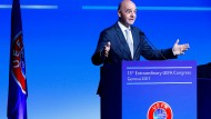 Gast bei der Uefa: Gianni Infantino