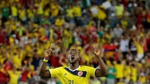Drittes Spiel, dritter Sieg für Kolumbien