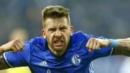 Guido Burgstaller gelang für Schalke der Ausgleich.