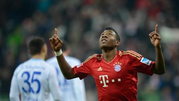Höher geht es nicht: Die Bayern schauen von oben auf die Bundesliga hinab