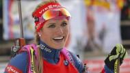 Soukalova gewinnt Pokljuka-Sprint