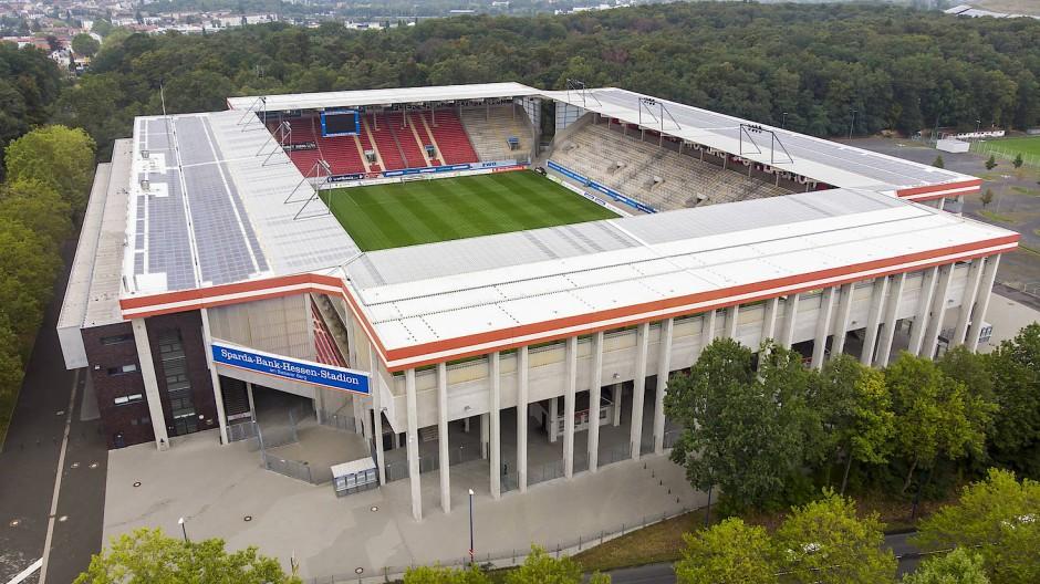 Wann in Offenbach wieder Zuschauer ins Stadion dürfen, ist ungewiss.