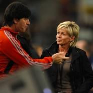 Bundestrainer unter sich: Joachim Löw und Silvia Neid