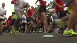 Halbmarathon in Moskau