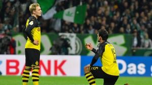 Dortmund scheitert beim Abstiegskandidaten