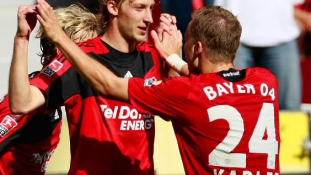 Kießling rettet Leverkusens Heimkehr