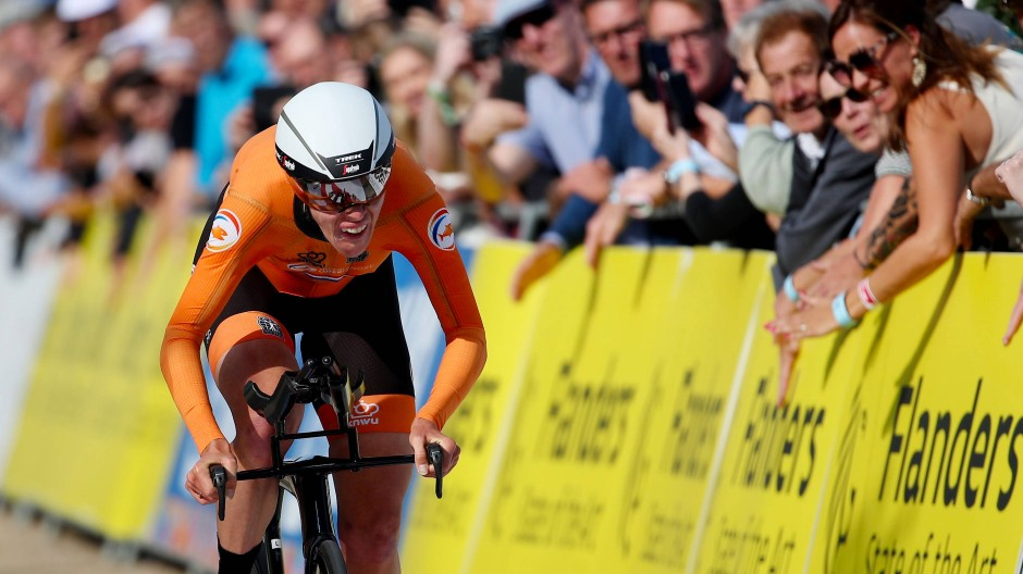 Gold für Oranje: Ellen van Dijk