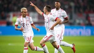 Für die Bayern gibt es nur eine Richtung
