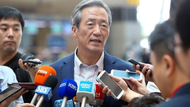 Ein Koreaner gegen Platini?