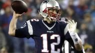 """""""Jetzt werden wir sehen, ob wir ein perfektes Ende schreiben können"""": Tom Brady."""